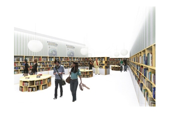 GranVia bookshop refurbishment. Bcn