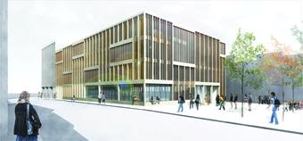 Sarrià public library. Bcn